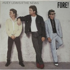 Huey Lewis And The News ‎– Fore!